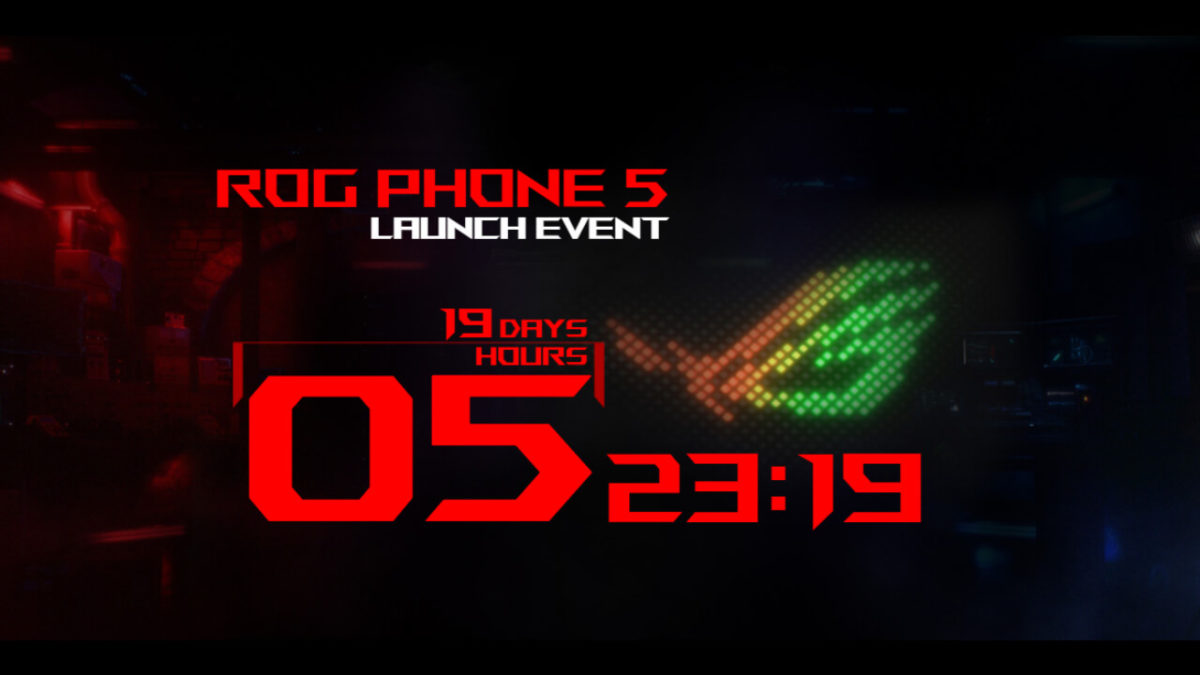 ASUS ROG Phone 5 launch-event