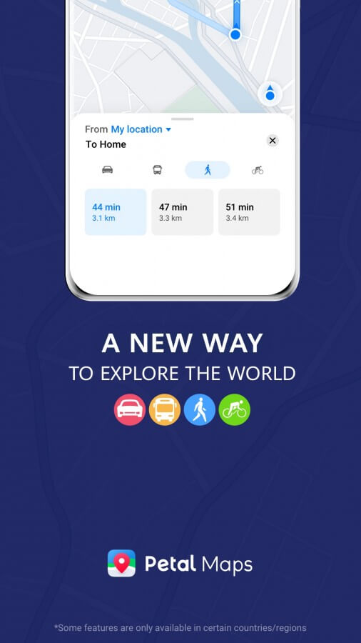 Huawei Petal Maps neue Features