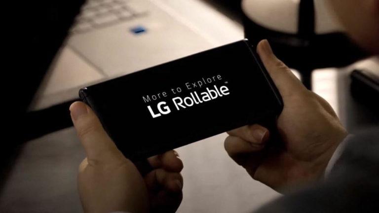 LG Rollable ist wieder im Spiel