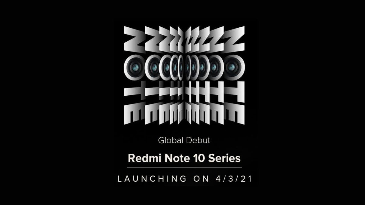Redmi Note 10 Teaser