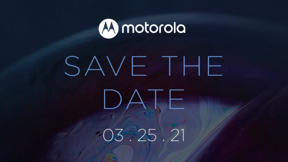 Motorola Save the Date am 25. März