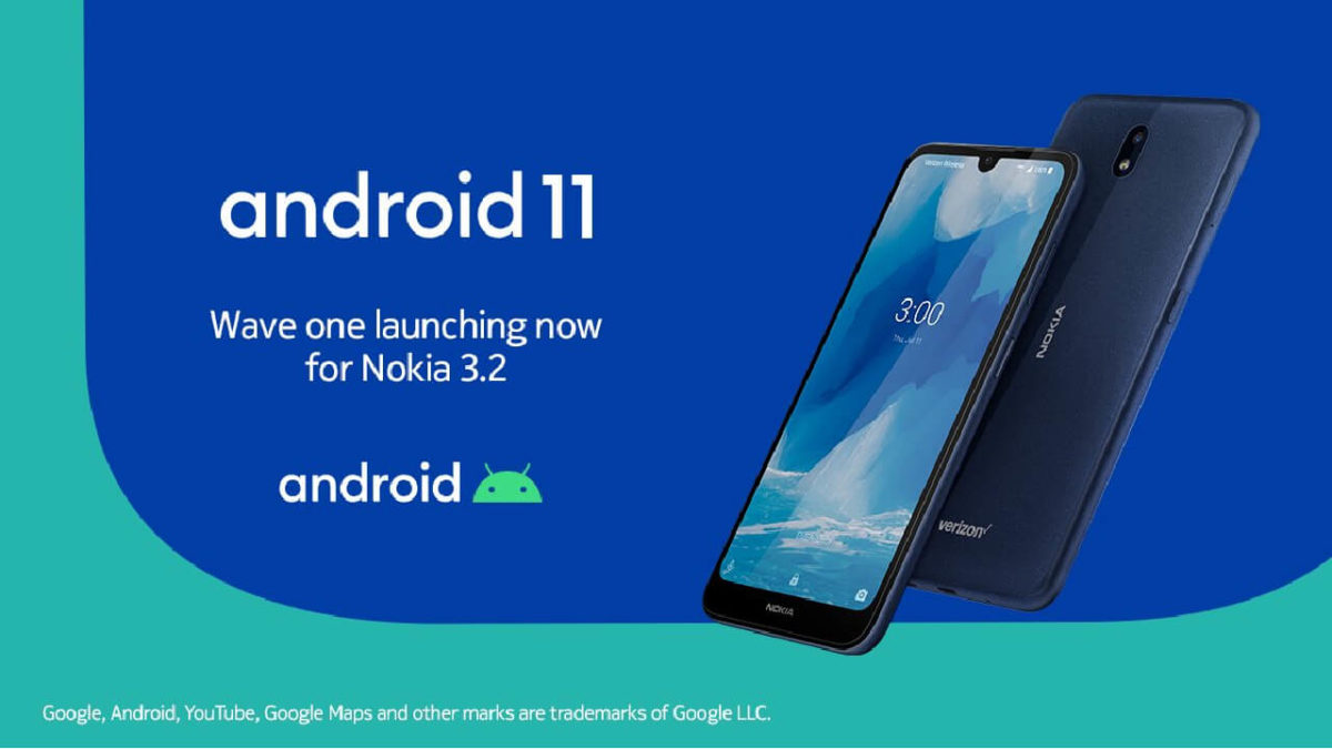 Nokia 3.2 Android 11 Update