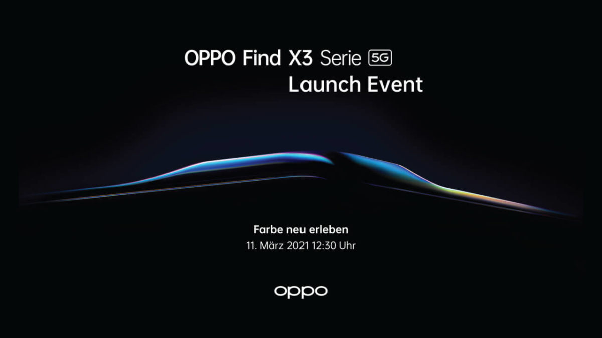 Oppo Find X3-Release
