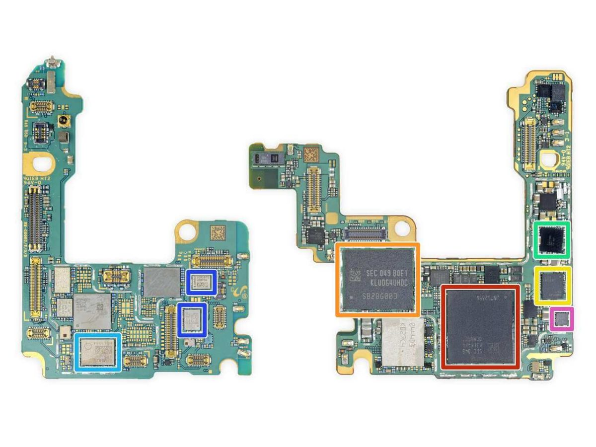 Samsung Galaxy S21 Ultra Motherboard Front